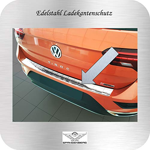 Spangenberg bumperbescherming roestvrij staal geschikt voor Volkswagen VW T-ROC SUV vanaf bouwjaar 11-2017 art. 3235193