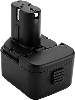 Joiry 3,5Ah 12 V Ni-MH EB1212S ersättningsbatteri kompatibelt med Hitachi EB1214L EB1220BL EB1220HL EB1220HS EB1220RS EB12...