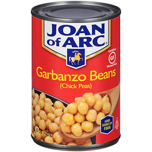 Joan of Arc Beans, Garbanzo, 15 Ounce (Pack of 12)