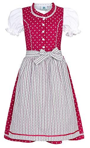 Isar-Trachten Isar-Trachten Kinder Dirndl Julienne - Pink Gr. 80