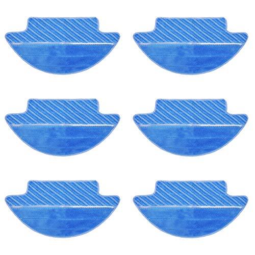unidades 5 /ó 10 Spares2go de algod/ón rizado portada de tela almohadillas para Karcher aspiradora de vapor herramienta manual 5 Pad Covers