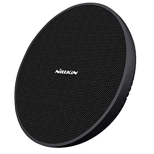 Nillkin 15W Caricatore Wireless, Caricabatterie Wireless con Ventola di Raffreddamento 10W per Samsung Galaxy Note 9/S10/S10 Plus/S9/S9 Plus/Note 8, 7.5W per iPhone XS Max/XR/X/XS/8/8 Plus