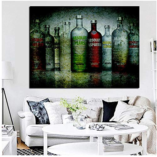 meaosy Puzzle Natur-Digitale Wodkaflasche Unique DIY Bilderrahmen Farbe 1000 Stück Puzzle Dekoration