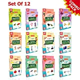 Spartan Kids Flash Cards (Mega Combo Pack) Early Learning Flash Cards Easy & Fun way of Learning 1...