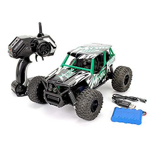 Zpzzy 1:16 Big Foot RC Climbing Truck, 2.4GHZ Control Remoto de Alta Velocidad Off-Road Racing Car, Alloy Drift Toy Bigfoot Vehicle, Recargable Remote Control Toy, Christmas Eve Gift Toys