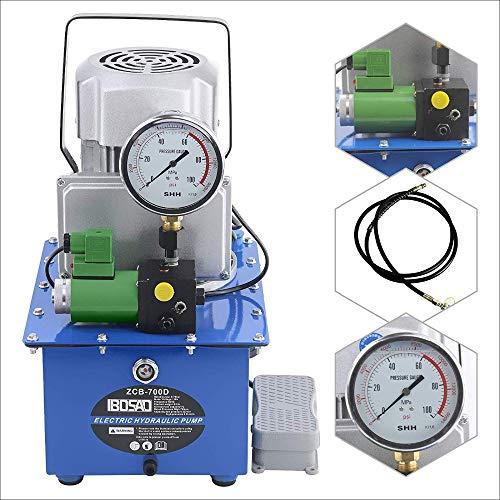 SHIJING Elektrische Hydraulikpumpe mit Magnetventil Seiner 70 Mpa einfachwirkend Motor-Station elektrisches Pedal Hydraulikaggregat
