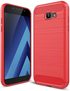 Samsung Galaxy A5 2017 Carbon Fiber Case Red