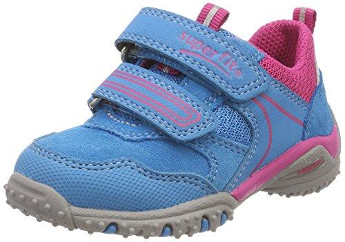 Superfit Baby Mädchen Sport4 Mini Sneaker, Türkis (Türkis Kombi), 28 EU