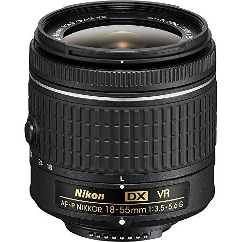 Nikon 18-55mm f/3.5 - 5.6G VR AF-P DX Nikkor Lens - International Version (No Warranty)