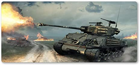 Zyhx34 World Tank Mouse Pad Professional Game Big Mouse Pad to Mouse Computer Mouse Pad to Mouse Play Mat Best Gift-700x400x3mm