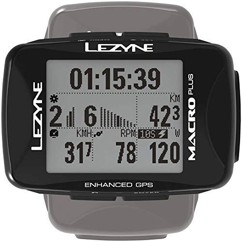 LEZYNE Macro Plus GPS Black, One Size