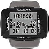 LEZYNE Macro Plus - Contador GPS para Bicicleta o montaña, Unisex, Color Negro, Talla única