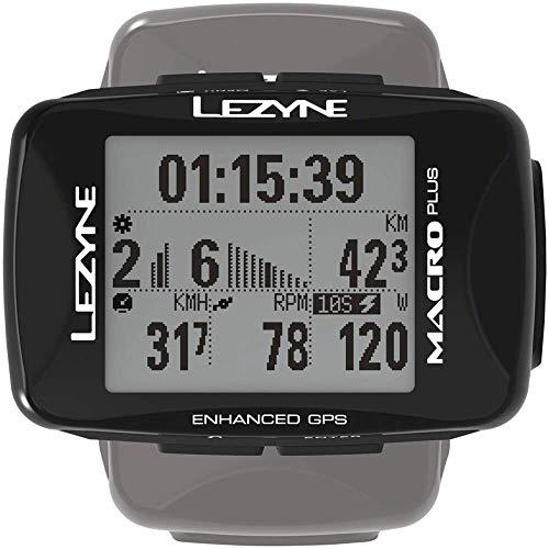 LEZYNE Macro Plus Compteur GPS vélo/VTT Mixte Adulte, Black, FR Unique (Taille Fabricant : t.One...