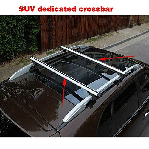 CDDDDB Autogepäckträger Top Cars Universalträger Autotrennleiste Kompatibel Modern Harvard SUV,Silber