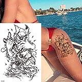 tatuaggi impermeabili per donne tatuaggio disegni neri disegni del tatuaggio adesivi per il corpo di halloween decalcomania del tatuaggio tatoo-in Tatuaggi da G TH648