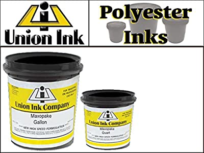 Union POLY Ink - Plastisol Screen Printing Ink for Polyester - Premium White