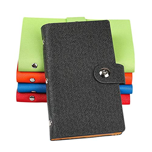 『YANHUA Business Card Books Business Card Holders with Magnetic Closure for Organizing Cards Journal Business Card Organizer Name Card』の2枚目の画像