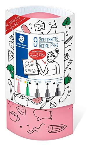 STAEDTLER Sketchnoting Set Rezepte, Starthilfe für leckere Recipe...