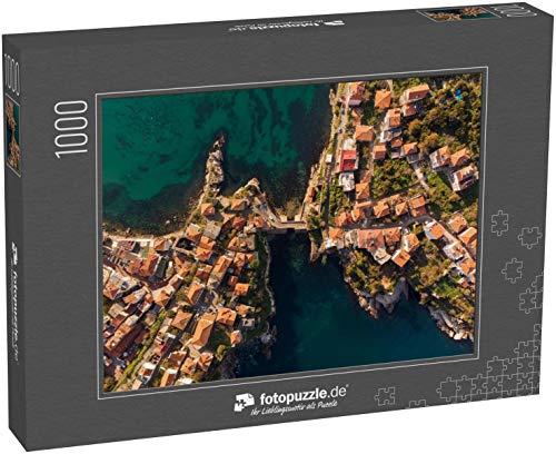 Puzzle 1000 Teile Drohnen-Luftbild von Amasra, Türkei - Klassische Puzzle, 1000/200/2000 Teile, in edler Motiv-Schachtel, Fotopuzzle-Kollektion 'Türkei'