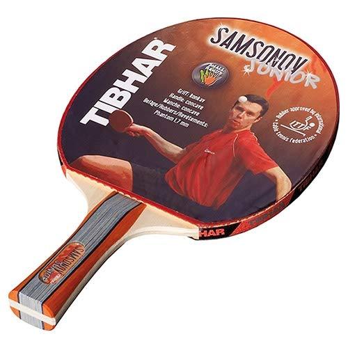 Tibhar Samsonov Junior | Tischtennis-Schläger für Kinder | konkav | ITTF-zugelassen