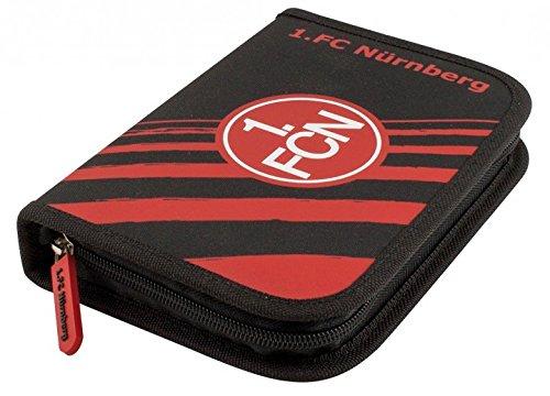 1. FC Nürnberg Schuletui gefüllt, Federmappe, Etui, Federtasche FCN - Plus Lesezeichen Wir lieben Fußball