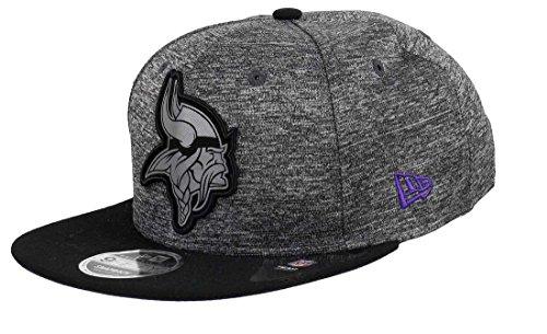 New Era Minnesota Vikings 9fifty Snapback Grey Collection Black/Grey - S-M