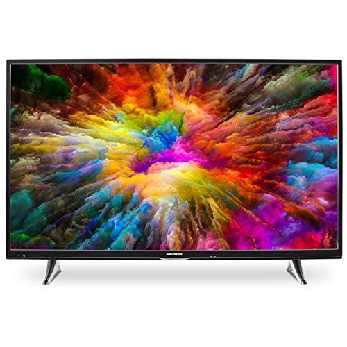 MEDION X15080 125,7 cm (50 Zoll) UHD Fernseher (Smart-TV, 4K Ultra HD, Dolby Vision HDR, Netflix, WLAN, DTS Sound, PVR, Bluetooth)