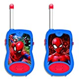 Spider-Man - Walkie-Talkies, 100 metros, juguete niño (Lexibook TW12SP)