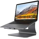Bestandノートパソコンスタンド 11 '' -16 '' Macbook Air Pro/富士通と互換性のある放熱性に優れたアルミニウム合金PCスタンド-グレー