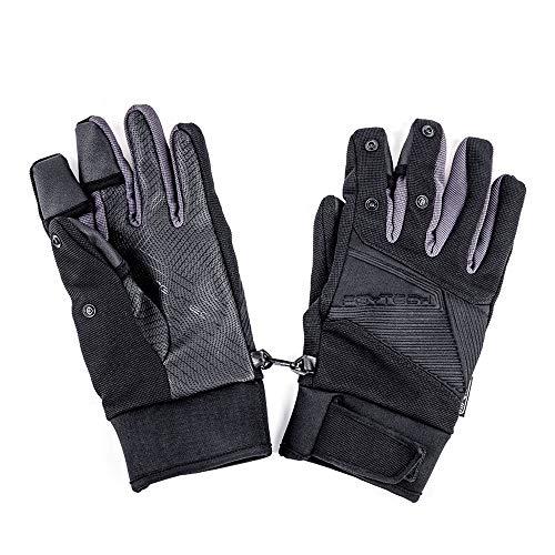 PGYTECH Fotografie Handschuhe Outdoor Bergsteigen Ski Reiten Flip Winddicht Wasserdicht Touchscreen Multifunktions Fliegen Handschuhe (XL(133g))