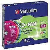 Verbatim DataLifePlus Hi-Speed CD-RW x 5 700 Mo