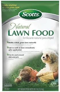natural lawn fertilizer