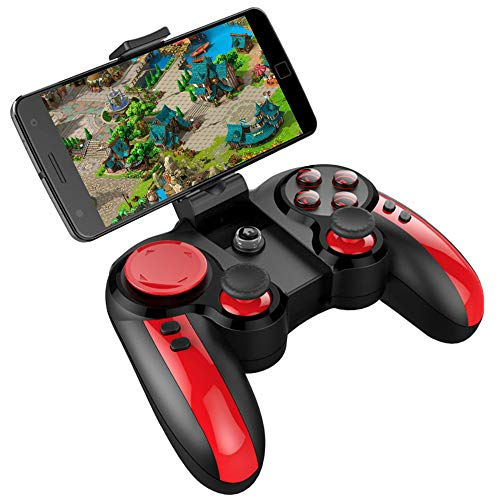RUIHUA Bluetooth Wireless Gamepad Jeu Télécommande pour Android, Windows, PC, téléphone Mobile