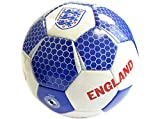 England FA Vector Football Club Official Size 5 Blue Ball Badge Crest Team Fan