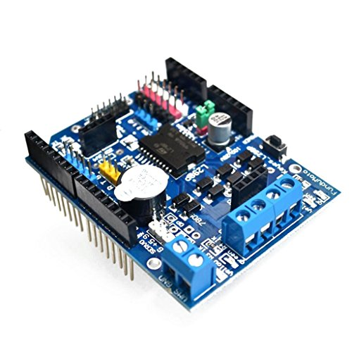 Nieuwe L298P Motor Driver Module H-Bridge Drive Shield Expansion Board High-Power DC Stepper Motor Controller voor Arduino