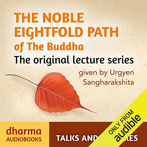 The Noble Eightfold Path of the Buddha cover art