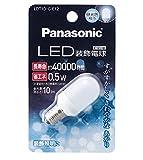 パナソニック LED装飾電球 T形タイプ 昼光色 LDT1DGE12 箱1個