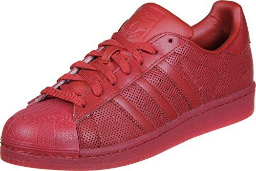 adidas Superstar Adicolour Herren Sneakers Rot