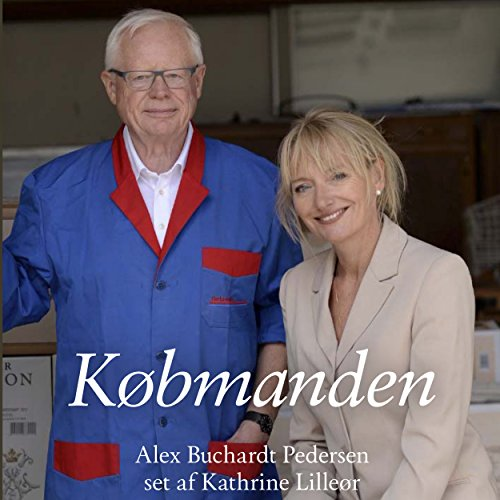 Købmanden audiobook cover art