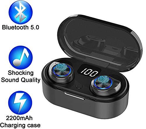petit un compact [Modèle 2020 Le Plus récent]                                                                                                                                                                                                                                                                Casque Bluetooth sans fil, casque stéréo Bluetooth léger TWS…