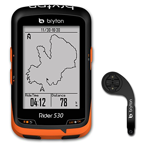 Bryton Rider 530 GPS Cycling Computer (2.6' Display, 530E - Base Model...