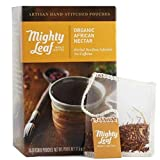 Mighty Leaf Whole Leaf Tea, Organic African Nectar, 15 Tea Bags Individual Pyramid-Style Tea Sachets of Uncaffeinated Organic Rooibos Tea, Delicious Hot or Iced, Sweetened or Plain