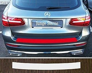 passgenau für Mercedes GLC Typ X253 ab 2015, Lackschutzfolie Ladekantenschutz transparent