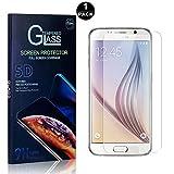Bear Village® Vetro Temperato per Galaxy S6, Nessuna Bolla Durezza 9H, 0.26mm HD Alta Tra...
