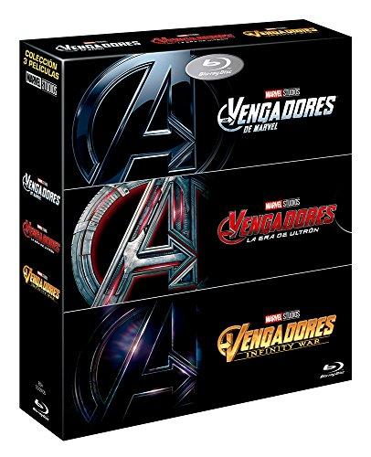 PACK Vengadores Infinity War + Vengadores + Vengadores. La Era de Ultron [Blu-ray]