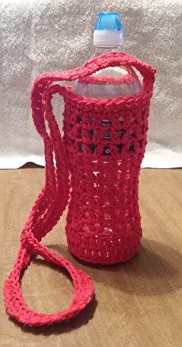 Hand Crocheted Water Bottle Holder