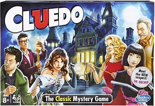 Hasbro Cluedo der Klassiker (englische Version)