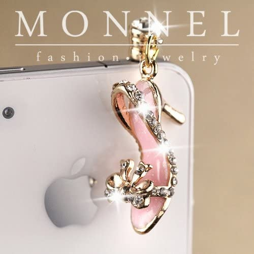 IP562-B Pink Crystal Lady High Heel Sandal Cell Mail order Shoe Phone SEAL limited product Dust