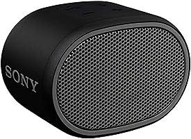 ソニー ワイヤレスポータブルスピーカー SRS-XB01 B] : 防水 Bluetooth スマホなしで操作可能 ストラップ付属 2018年モデル / マイク付き/ ブラック