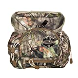 Alaska Classic HBS with M.A.X. Pocket Bino Pack   Camo Binocular Harness Vest   Hunting Binoculars and Rangefinder Pouch (Mossy Oak Break-Up Country)
